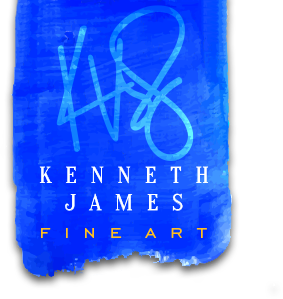 Kenneth James Fine Art logo